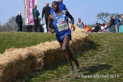 Stanley Kebenei of USA placed 35th.